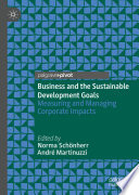 Business and the Sustainable Development Goals Book