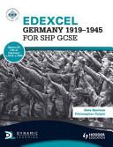 Books - Edexcel Germany 1919-1945 For Shp Gcse | ISBN 9781444123104