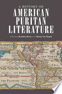 A History of American Puritan Literature