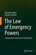 The Law of Emergency Powers