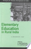 Elementary Education in Rural India