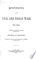 Minnesota in the Civil and Indian Wars, 1861-1865: Without special title