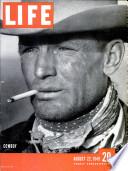 22 aug. 1949