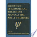 Read Online Sourcebook of Psychological Treatment Manuals for Adult Disorders For Free
