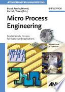 Micro Process Engineering Book
