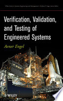 Verification, Validation, and Testing of Engineered Systems