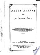 Denis Brian; or, A promise kept