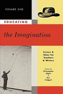 Educating the Imagination  Writing poetry  Writing fiction  Inventing language  Bi lingual   cross cultural  Evaluation  Reading   First   last   A look back