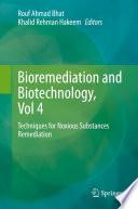 Bioremediation and Biotechnology  Vol 4