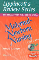 Maternal newborn Nursing Book PDF