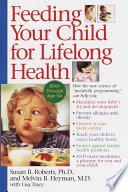 Feeding Your Child for Lifelong Health