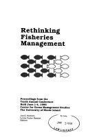 Rethinking Fisheries Management