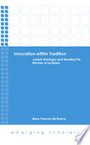 Innovation within Tradition