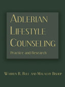 Adlerian Lifestyle Counseling