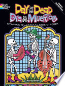 Day Of The Dead/Dia de Los Muertos Stained Glass Coloring Book