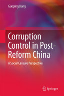 Corruption Control in Post-Reform China [Pdf/ePub] eBook