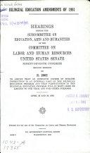 Bilingual Education Amendments of 1981