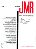 JMR  Journal of Marketing Research