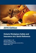 Ontario Workplace Safety and Insurance Act