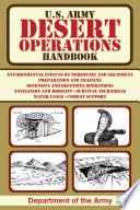 U S  Army Desert Operations Handbook Book PDF