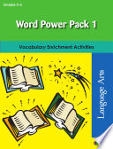 Word Power Pack 1 for Grades 2 3 Book