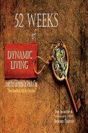 52 Weeks of Dynamic Living