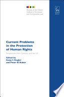 Current Problems In The Protection Of Human Rights