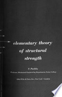 Elementary Theory of Structural Strength