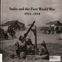 India and the First World War 1914 1918
