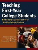 Teaching First Year College Students Book
