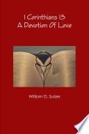 1 Corinthians 13  A Devotion of Love Book
