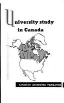 University Study in Canada Book