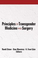 Principles Of Transgender Medicine And Surgery Book PDF