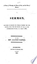A Place of Worship  the House of God  and the Gate of Heaven  A sermon  etc Book