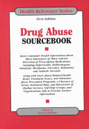 Drug Abuse Sourcebook Book