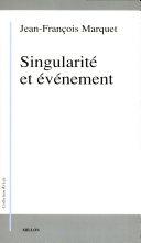 Singularité et événement