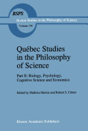 Qu  bec Studies in the Philosophy of Science