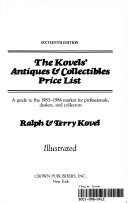 Pdf The Kovels' Antiques & Collectibles Price List
