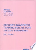 Security Awareness Training For All Port Facility Personnel Book PDF