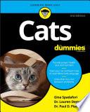 """Cats For Dummies"" by Gina Spadafori, Lauren Demos, Paul D. Pion"