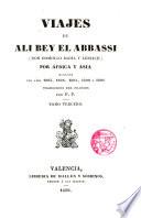 Viajes de --- (Don Domingo Badía y Leblich) por Africa y Asia durante los años 1803...