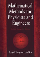 Mathematical Methods for Physicists and Engineers
