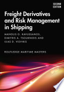 Freight Derivatives and Risk Management in Shipping