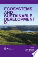 Ecosystems and Sustainable Development IX
