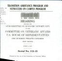 Transition Assistance Program and VetSuccess on Campus Program