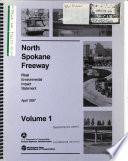 North Spokane Freeway Project  Spokane County Book