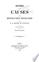Histoire des causes de la révolution française
