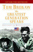 The Greatest Generation Speaks Book PDF