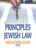 The Principles of Jewish Law