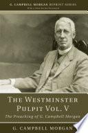 The Westminster Pulpit vol  V